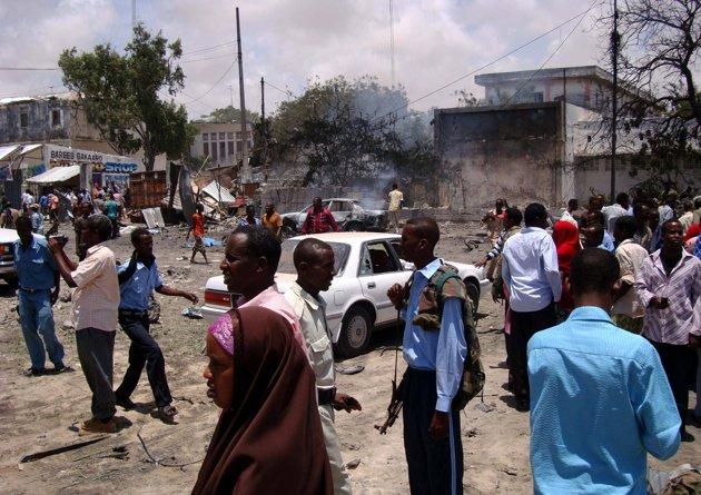 Mogadişu'da patlama sesleri...