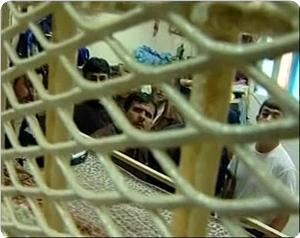 Açlık grevindeki Filistinli mahkumlara saldırı
