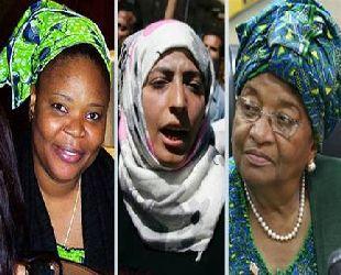 Nobel Barış Ödülü'nü 3 kadın paylaştı
