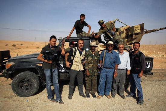 Muhaliflerden Sirte'ye son darbe