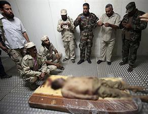 Kaddafi 'atalarının toprakları'nda ölmek istemiş