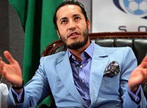 Kaddafi'nin oğlundan babası için ilk açıklama