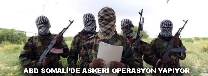 Amerika Somali'de askeri operasyonda