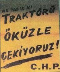 Seçim afişleri ile DP- CHP mücadelesi