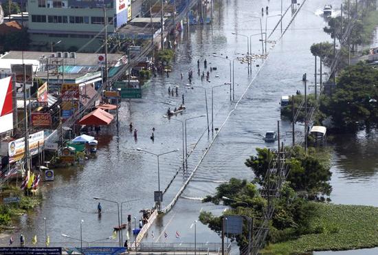 Tayland'da 30 bin kişiye 'kaçın' uyarısı