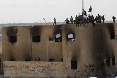 Selefiler Libya'da cami yıkıyor iddiası