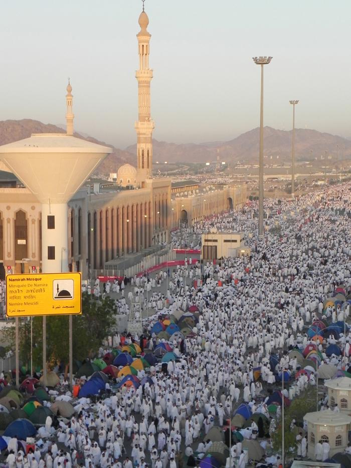 Hacıların Arafat yolculuğu başladı
