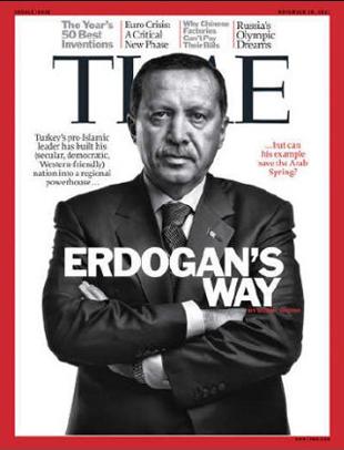 TIME Erdoğan'ı kapak yaptı
