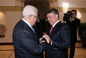 Ürdün Kralı'ndan Abbas'a destek ziyareti