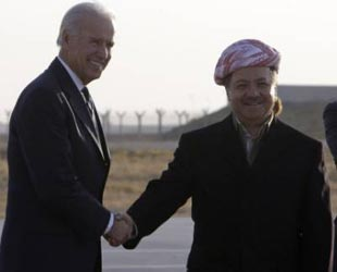 Barzani ile Biden bir araya geldi