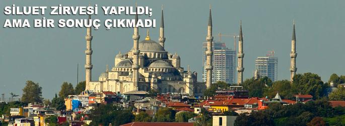 İstanbul'daki 'siluet zirvesi' sonuçsuz kaldı