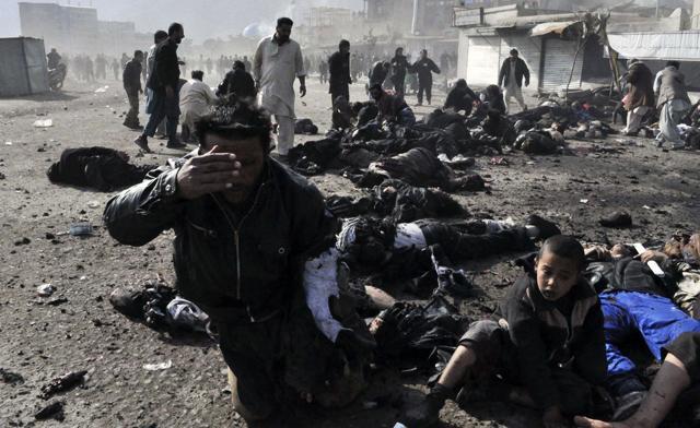 Aşura saldırısında ölü sayısı 48'e yükseldi