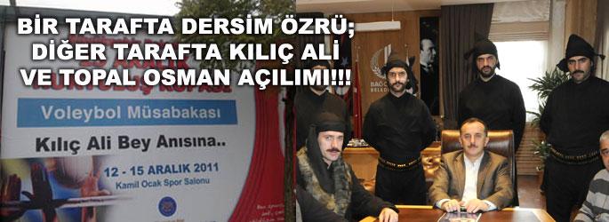 AK Parti'den Topal Osman ve Kılıç Ali açılımı!