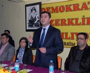 Demirtaş'tan Zana'ya Erdoğan ikazı!