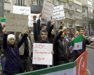 Esad'a dünya çapında 'Humus' öfkesi