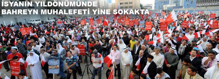 Bahreyn'de muhalefet yeniden meydanlarda