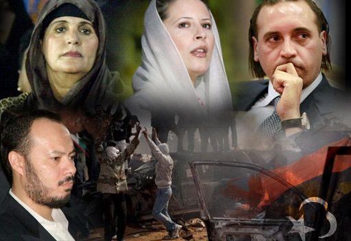 Kaddafi ailesine Cezayir'de de huzur yok