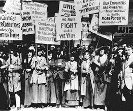 Kadın işçilerin öldüğü gün 'Dünya Kadınlar Günü' oldu