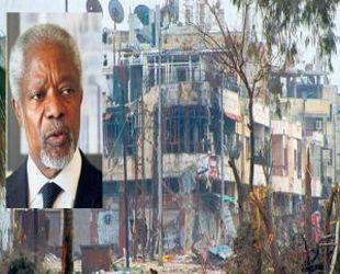 Annan Suriye için Çin'de