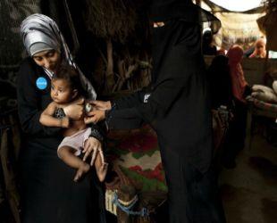 Lübnan'da çocuk felci endişesi