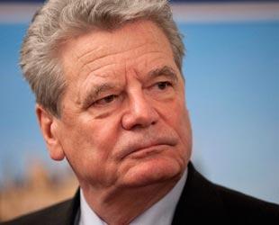 Almanya Cumhurbaşkanı Gauck Ankara'da