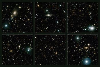 Astronomlar 4 yeni galaksi kümesi keşfetti