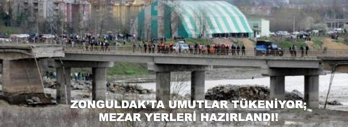 Zonguldak'ta umutlar tükeniyor; mezarlar kazılıyor