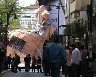 Fırtına İstanbulluları çok korkuttu