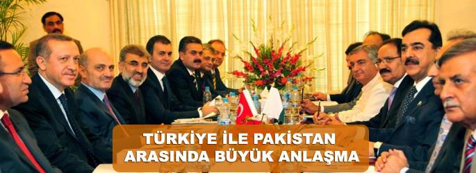 Türkiye ile Pakistan arasında anlaşma
