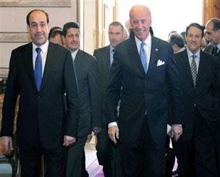 Maliki'nin yardımına Biden koşuyor