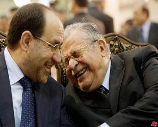 Talabani de Maliki'nin karşısına geçti