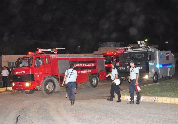Şanlıurfa Cezaevi'nde yangın: 13 ölü