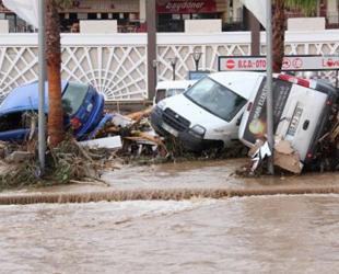 Samsun'da sel tehlikesi sürüyor...