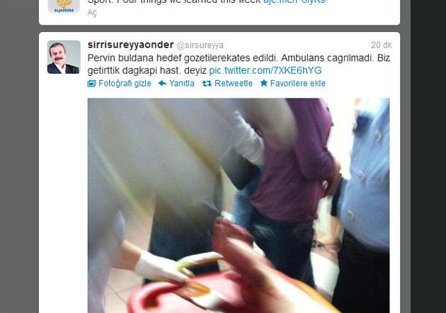 'BDP'li vekile ateş edildi' iddiası