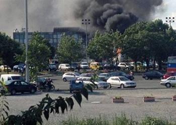 Sultangazi'de karakolda patlama; 1 ölü