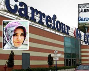 CarrefourSA suçu personeline attı!
