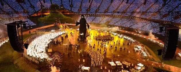 Londra Olimpiyatları'na Gulyabanili açılış-FOTO