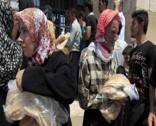 Filistinli 15 mülteci açlıktan hayatını kaybetti