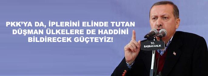 Erdoğan'dan 'düşman  ülke' vurgusu
