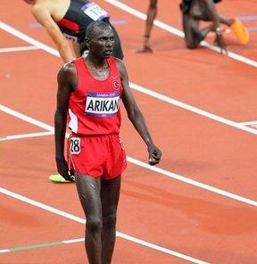 Londra'da bir milli atlet daha elendi
