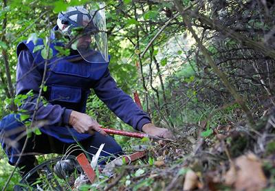 Bosna'da geride kalan mayınlar tehdit ediyor
