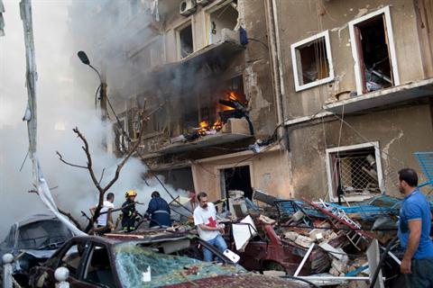 Beyrut'ta bombalı saldırı: Sekiz ölü