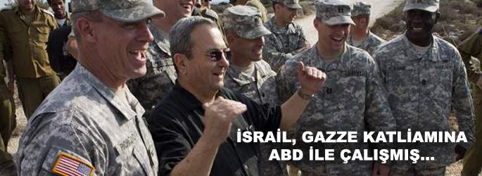 İsrail Gazze katliamına ABD'yle çalışmış