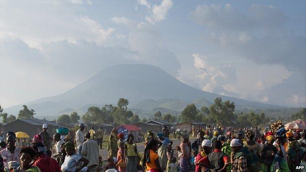 Goma'da çekilen yalnız isyancılar değil !