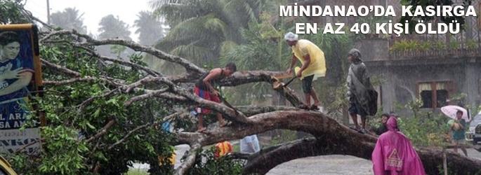 Kasırga Mindanao'yu vurdu: 43 ölü