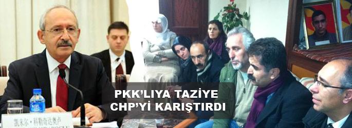 PKK'lıya taziye, CHP'yi karıştırdı