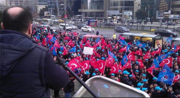 BMC işçilerinin eylemi sürüyor