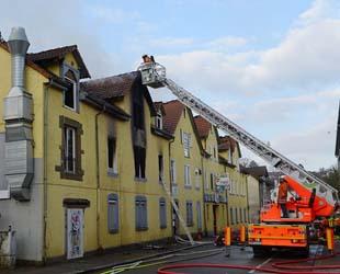 Alman polisine göre yangın sobadan!..