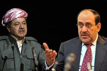 Barzani'den Maliki'ye Kürdistan resti