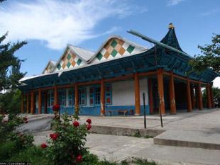 Kırgızistan'da Çin mimarili bir cami/ FOTO